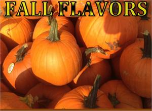 Pumpkin Fall Flavors of Coffee