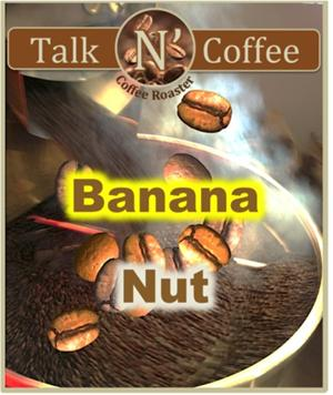 Banana Nut Flavored Coffee