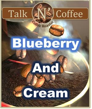 Blueberry and Cream Coffee