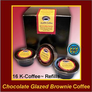 Chocolate Glazed Brownie Flavored K-Cup Refill