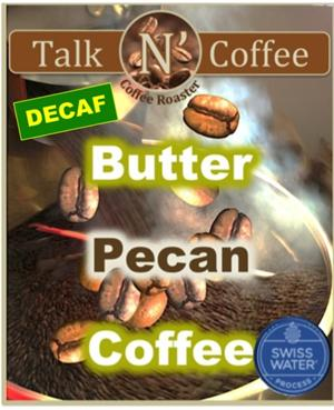 Decaf Butter Pecan Flavored Coffee