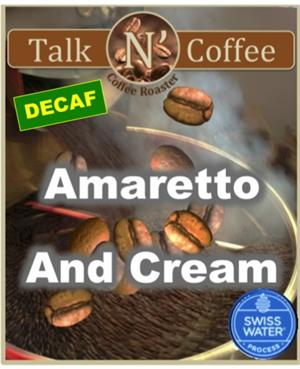 Decaf Amaretto Cream Flavored Coffee