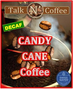 Decaf Candy Cane Flavored Coffee