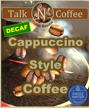 Decaf Cappuccino Flavored Coffee