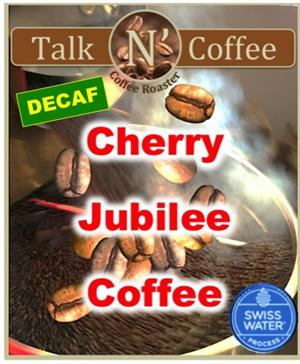 Decaf Cherry Jublee Flavored Coffee