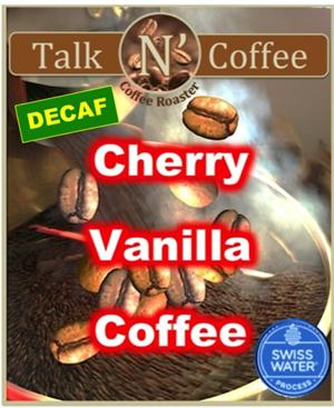 Decaf Cherry Vanilla Flavored Coffee