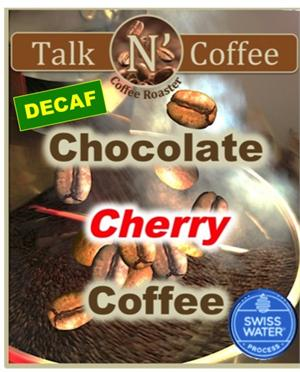 Decaf Chocolate Cherry Flavored Coffee