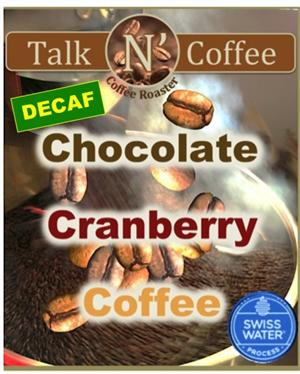 Decaf Chocolate Cranberry Flavored Coffee