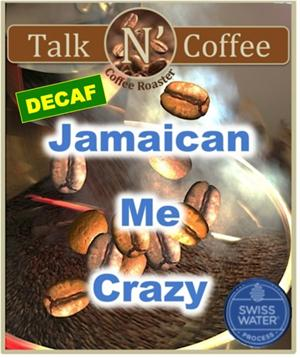 Decaf Jamaican Me Crazy Flavored Coffee