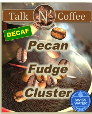 Decaf Pecan Fudge Cluster Flavored Coffee