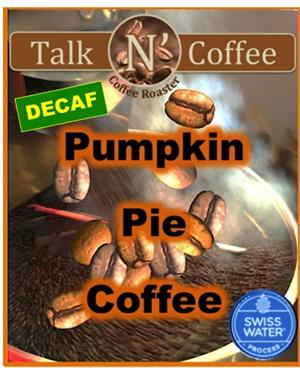 Decaf Pumpkin Pie Flavored Coffee