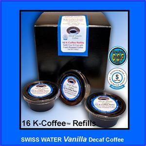 Decaf Vanilla Flavored K-Cup refill