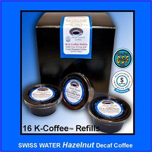 Decaf Hazelnut Flavored K-Cup Refill