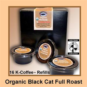 Organic Black Cat K-Cup Refill