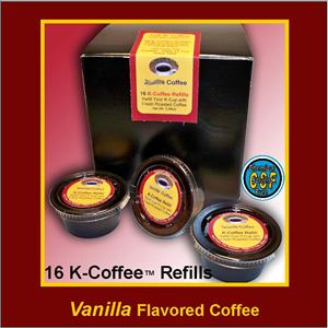 Vanilla Flavored K-Cup Refill