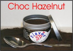 Can of Chocolate Hazelnut Coffee Flavoring