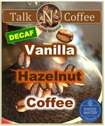 Decaf Vanilla Hazelnut Flavored Coffee