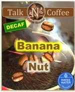 Decaf Banana Nut Flavored Coffee