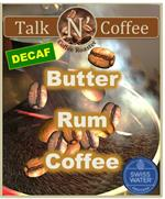 Decaf Butter Rum Flavored Coffee