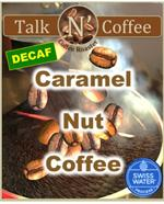 Decaf Caramel Nut Flavored Coffee