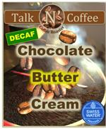 Decaf Chocolate Butter Cream Flavored Coffee