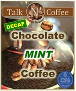 Decaf Chocolate Mint Flavored Coffee