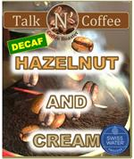Decaf Hazelnut Cream Flavored Coffee