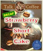 Decaf Strawberry Short Cake Flavored Coffee
