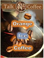 Orange Ice Coffee
