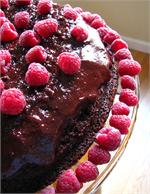 Chocolate Raspeberry Cake
