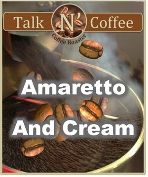 Amaretto and Cream Flavored Coffee