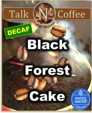 Decaf Black Forest Cake Flavored Coffee