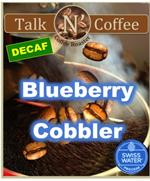 Decaf Blueberry Cobbler Flavored Coffee