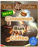 Decaf Cinnamon Bun Flavored Coffee