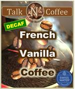 Decaf French Vanilla Flavored Coffee