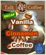 Decaf Vanilla Cinnamon Flavored Coffee