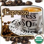 Organic, Fair Trade, Espresso Coffee